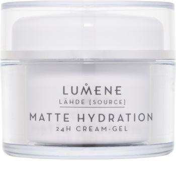Lumene Lähde [Source of Hydratation] Matte Hydration 24H Cream-Gel